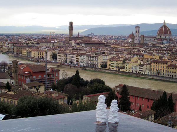 Visitor-Aktion in Firenze (IT - Toscana